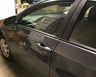 2014 Toyota Corolla, 4 door sedan.  Low miles-only 18,873, slate grey with light grey interior.  No exterior damage, vehicle is in excellent condition