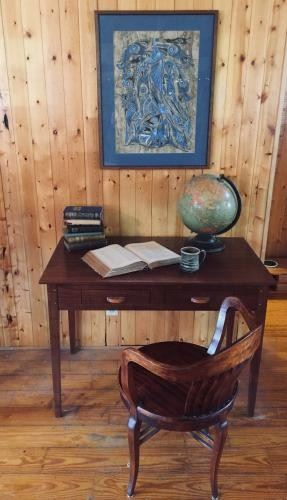 Hand-Crafted Desk and Chair Vignette https://ctbids.com/#!/description/share/297922