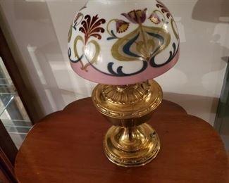 Early Brass Rago Lamp