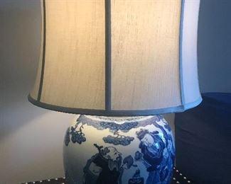Oriental lamp (lit)