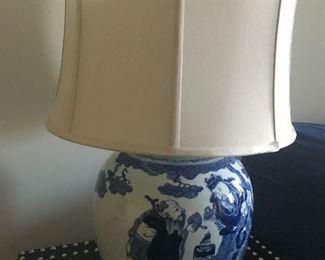 Oriental lamp (unlit)