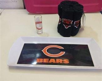 Chicago bears 3-piece gift set