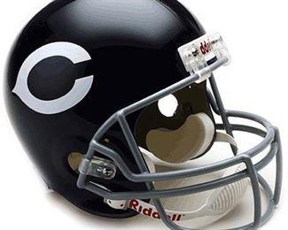 NFL Riddell Chicago Bears Navy Blue 1962-1973 Throwback Replica Full-Size Helmet
