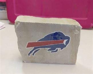Buffalo Bills small limestone