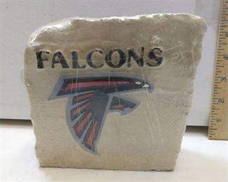 Atlanta falcons logo small limestone