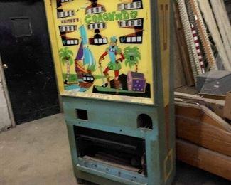 Vintage corontado pinball machine
