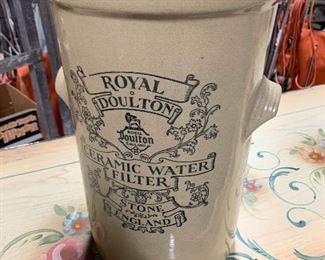 rare, royal doulton water clock