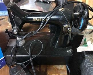 Spartan mini sewing machine
