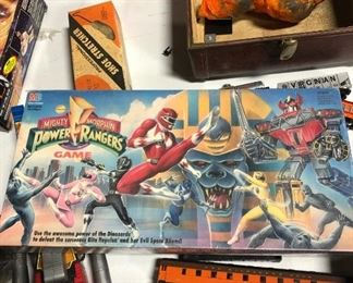 Never opened early power rangers game