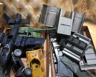 Vintage gijoe toys,early 80's