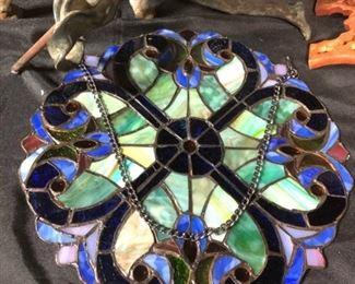 stained glass window hanging decoration