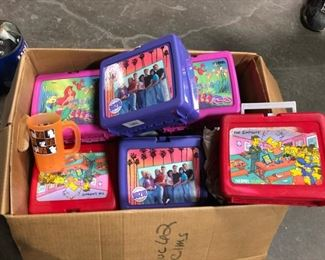 vintage lunchboxes simpsons little mermaid 90210 and more