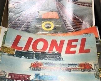 lionel books from the 50'