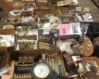 clock parts, close ups in photos below