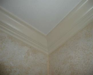 Crown Molding, in every room. $.75 L.F.