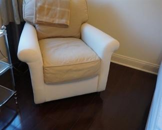 CRATE AND BARREL CHAIR