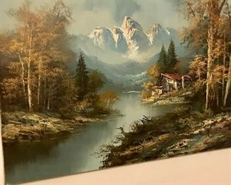 Germany Oil Painting