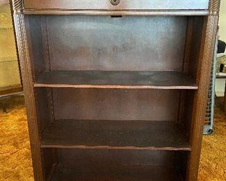 Mahogany book case