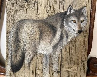 """Wolf"" by G Turner,"