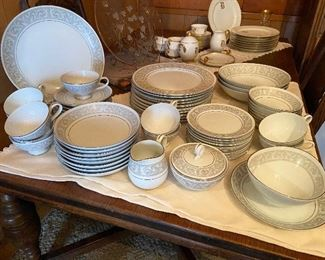 Imperial China Whitney, 10 piece plate setting
