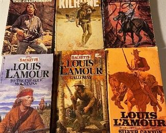 Paper back western books