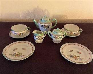 "Lustre ware tea set ""1930's"""