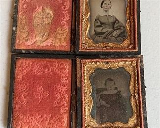 Ambrotype with case