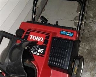 TORO SNOWBLOWER  POWER CURVE / GTS