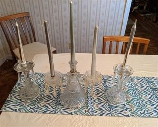 Candlesticks with Prisms