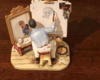 118 Norman Rockwell Figurine