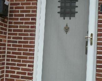 "36"" X 80"" White Strom Door $25.00"