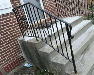 Pair wrought iron railing $75.00