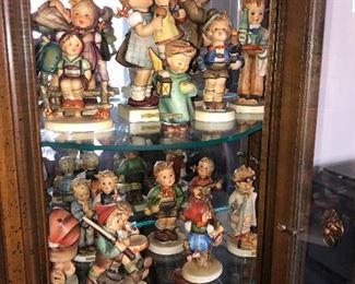 Large collection of Hummels (many vintage)