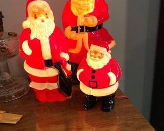 Vintage Santa's
