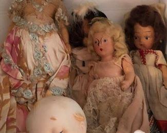 Nancy Ann dolls (several)