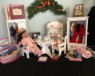 Josefina doll and accessories (American Girl)