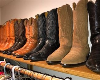 Lots of boots (Justin)