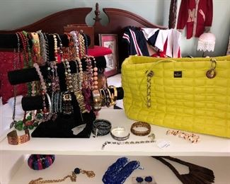 Jewelry/Kate Spade purse