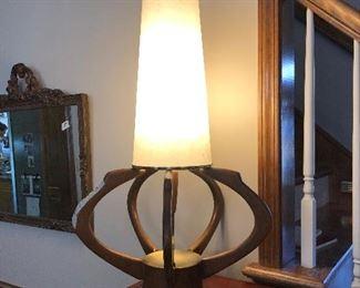 Unique mid century modern lamp