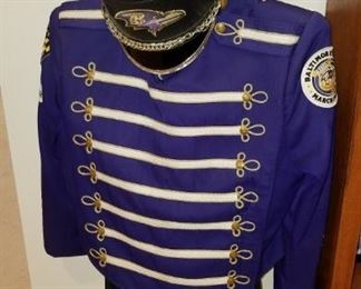 Raven's Marching Band uniform