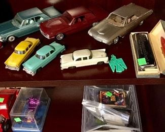 PROMO T BIRDS & FORD GALAXIE, PLUS VINTAGE HARMONICA.