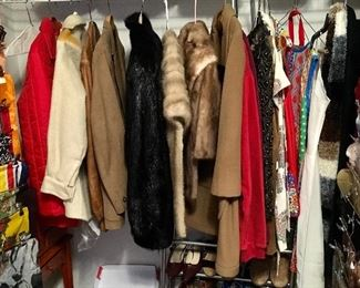 MORE FINE FURS, INCLUDING BEAUTIFUL VINTAGE BLACK NUTRIA FUR.