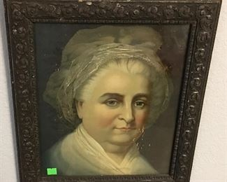 ORIGINAL ANTIQUE MARTHA WASHINGTON ADVERTISING ART.