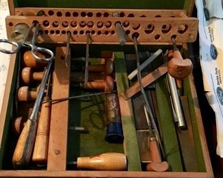 VINTAGE WOOD WORKING TOOLS