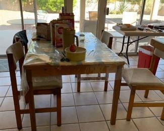 Teak Expandable Dining Table