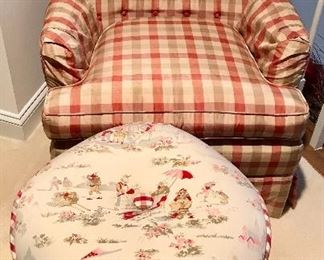 One of two matching chairs