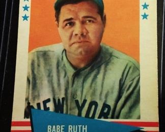 1961 Fleer #75 Trading Card- Babe Ruth