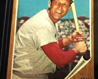1962 Topps #50 Trading Card- Stan Musial