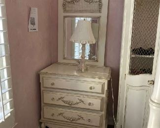 See cut sheet for description--Includes desk lamp and mirror $800.00/each (2) available