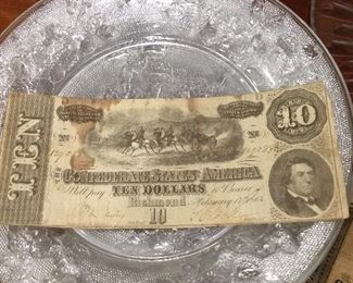 Confederate Civil War Money